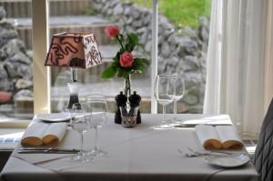 restaurant tafel voor twee